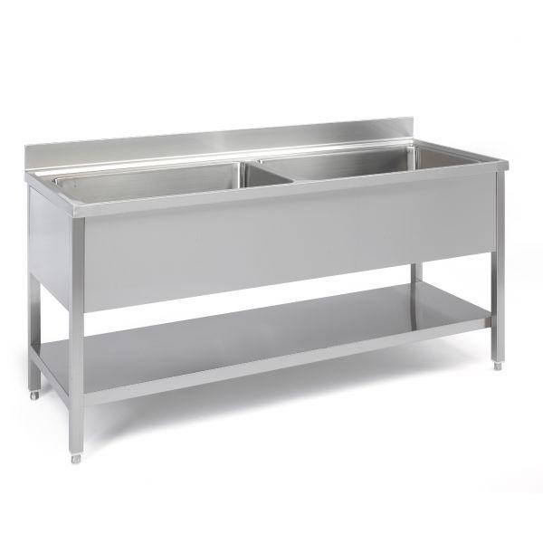 Industrial Sink Uk : Sink units: big capacity range worktops - Industrial sinks. Sammic ...