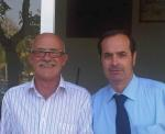 Rafael Cebriá con Jose Luis Ferrer