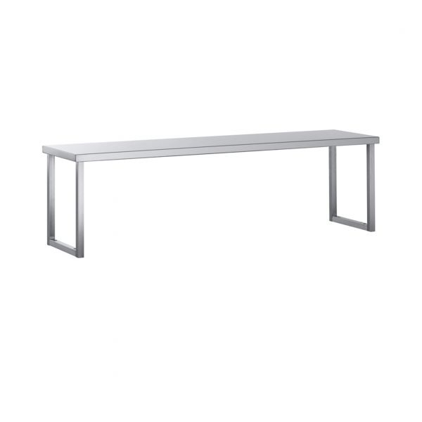Tabletop Shelves Work Tables Sammic Snack Barpizzeria - Stainless steel table top shelves