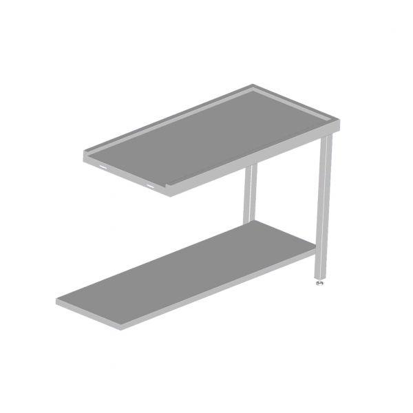 table simple sortie lave vaisselle avancement des paniers sammic laverie. Black Bedroom Furniture Sets. Home Design Ideas
