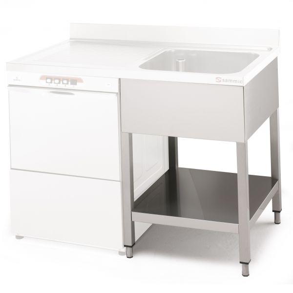 B tis de plonge lave vaisselle professionnels sammic for Machine plonge professionnel