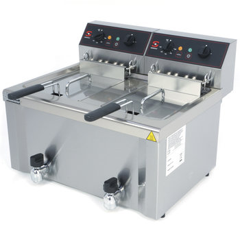 Electric fryer FE-12+12