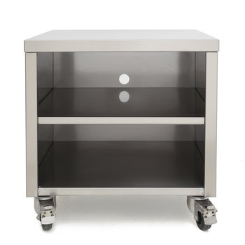 Trolley for vacuum packing machines