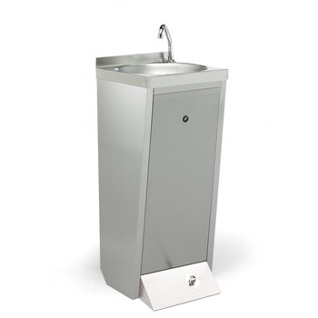 Freestanding hand washbasin