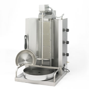 Gyros / kebab burners